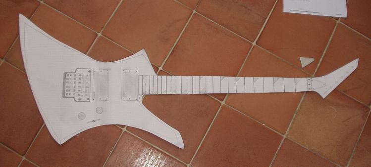 Schema electrique d'une guitare