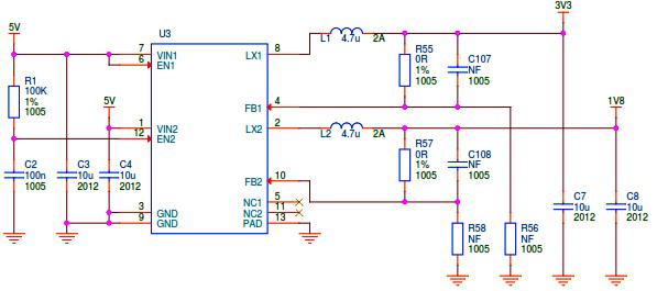 Schéma électrique raspberry pi