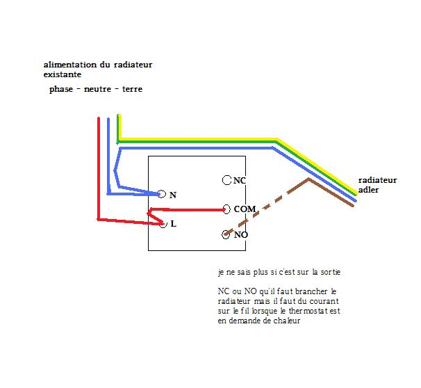 Schéma electrique pour monotron 200