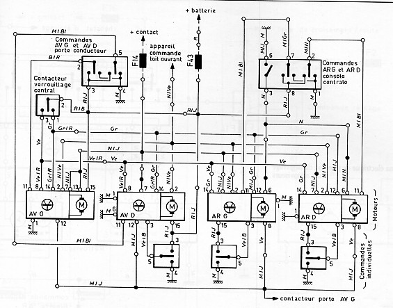 schema electrique moteur vr6