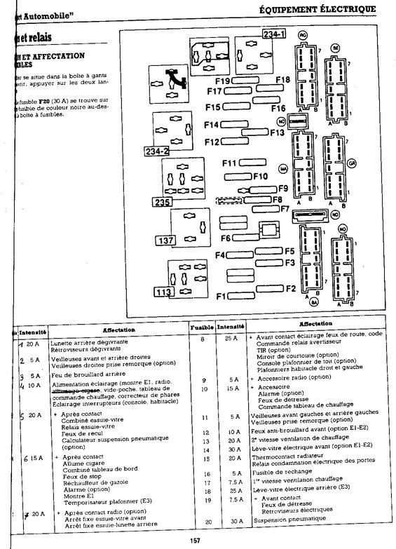 schema electrique klaxon clio 3