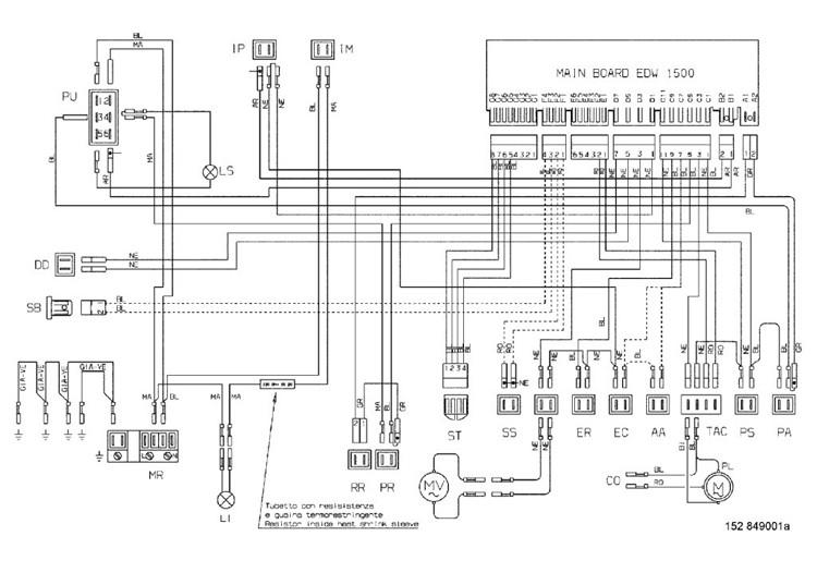 Schema electrique indesit