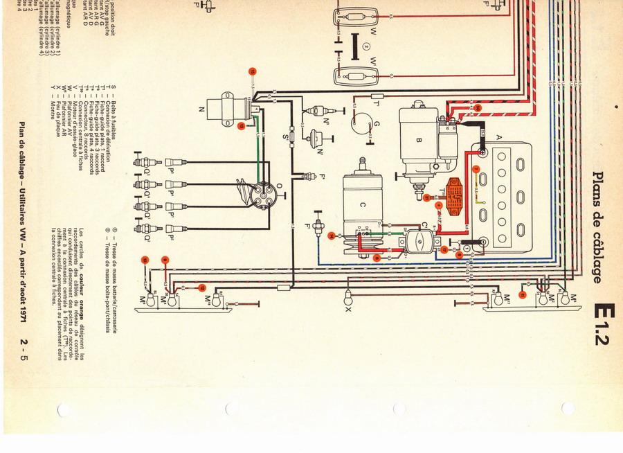 Schema electrique vw t3