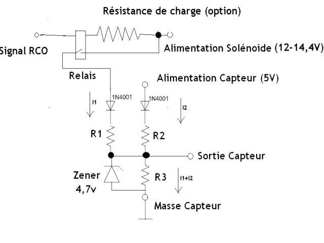 Schema electrique vanne egr