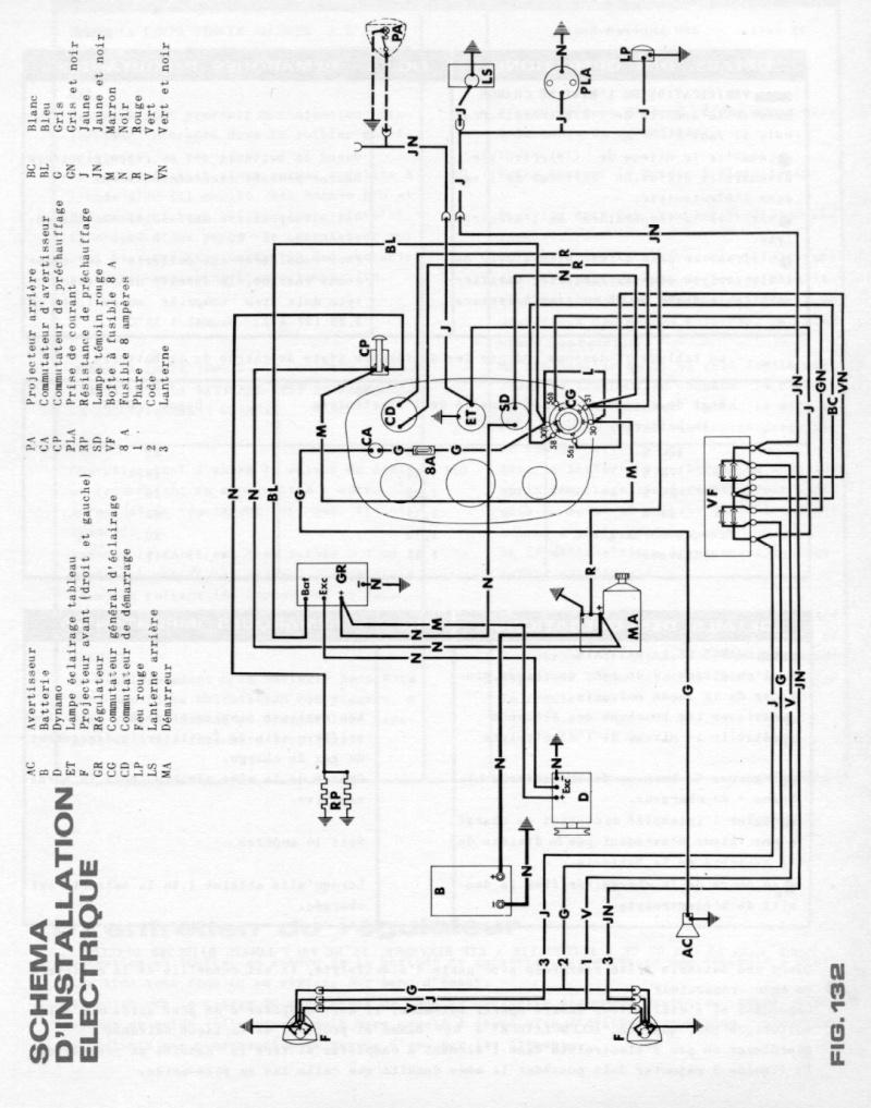 schema electrique tracteur fiat 640