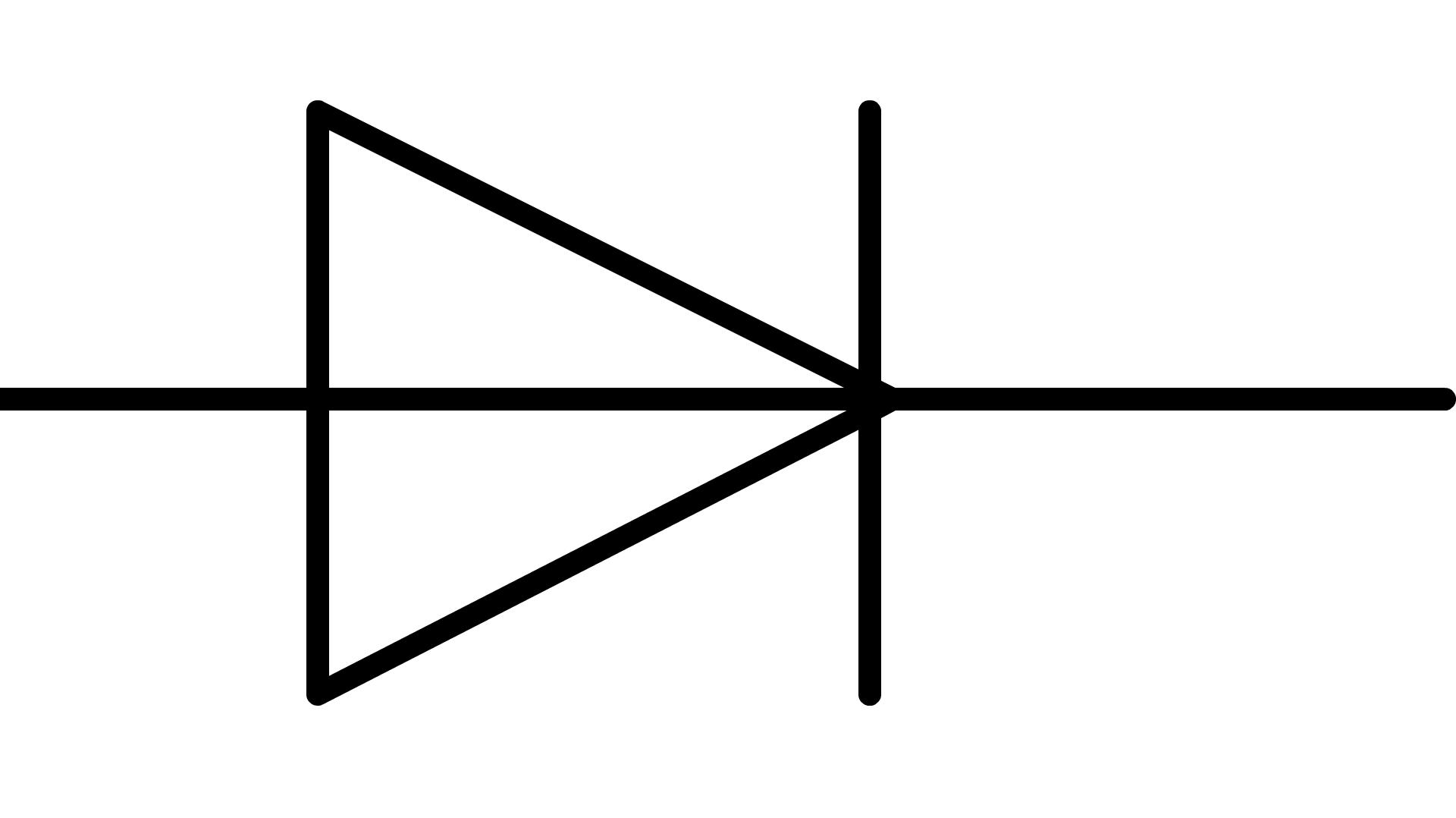 Symbole schema electrique cap