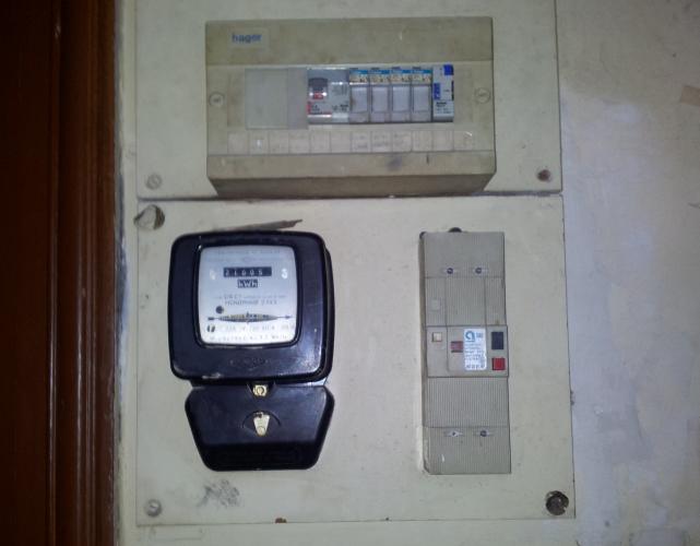 Mise au norme compteur électrique