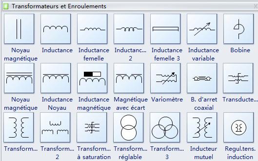 Transformateur schema electrique