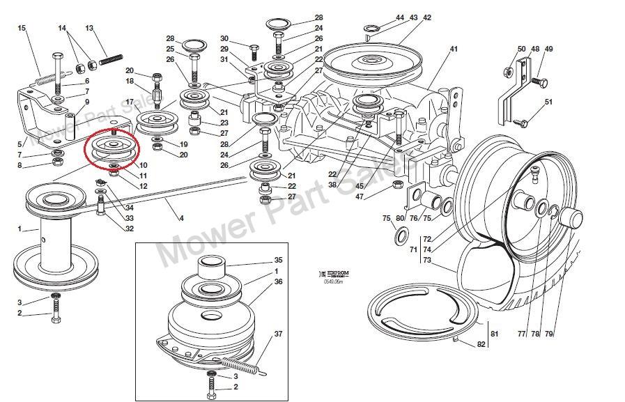 Honda 2417 schema electrique