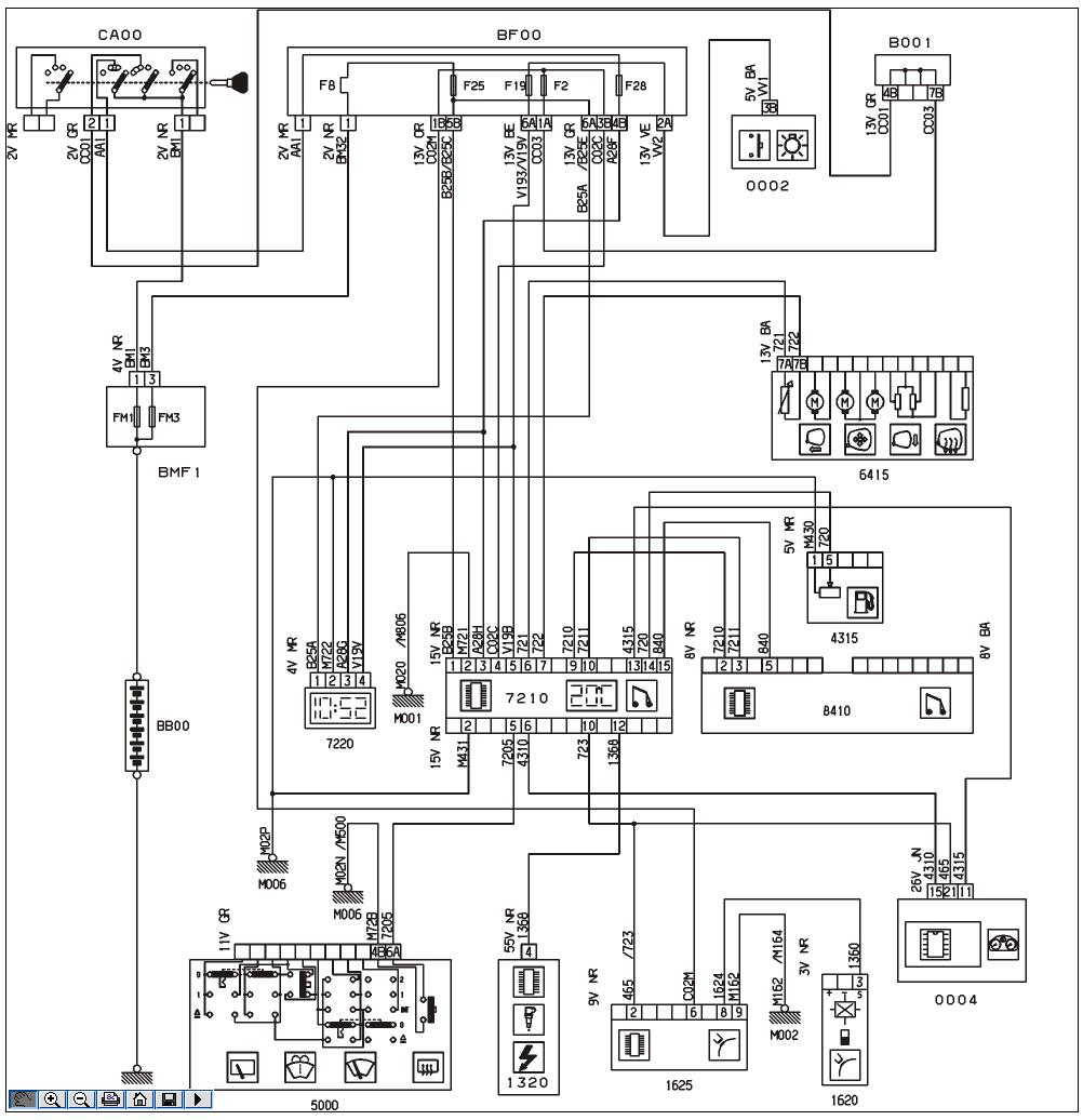 Schema Electrique Ventilation Peugeot 406