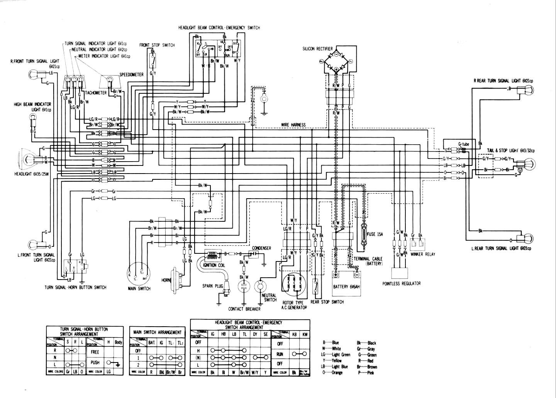Schema electrique er6n